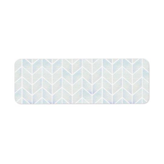Modern watercolor pastel mint chevron pattern