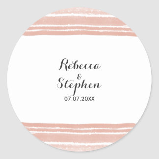 Modern Watercolor Wedding Stickers