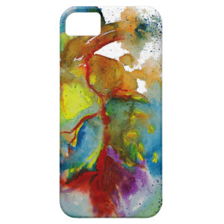 Modern Watercolour Anatomical Heart Case For The iPhone 5