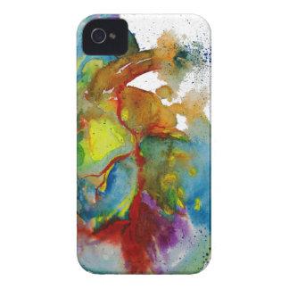 Modern Watercolour Anatomical Heart iPhone 4 Case