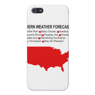 Modern Weather Map iPhone 5/5S Case