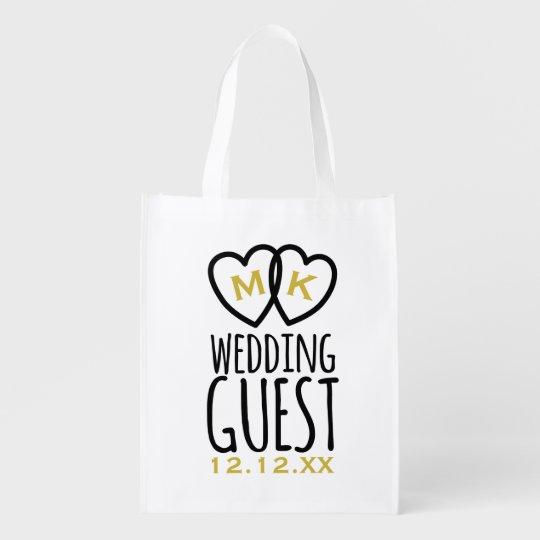 Modern Wedding Guest Swag Market Totes