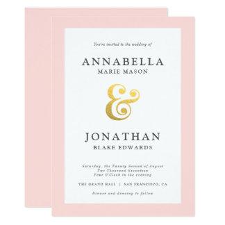 Modern Wedding Invitation