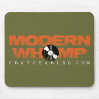 Modern Whomp - Green Mouse Pad