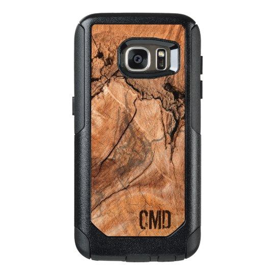 Modern Wood Knots Texture OtterBox Samsung Galaxy S7 Case