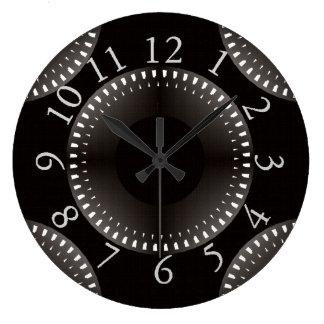 Modern_World_Black-Gray-White_Unisex--S--L Large Clock