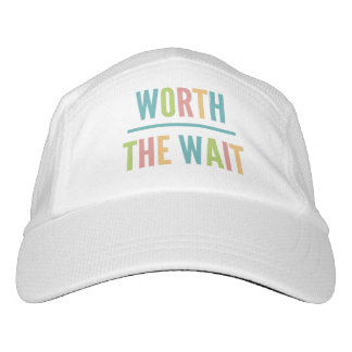 Modern Worth the Wait - Adoption, New Baby Hat