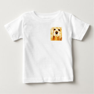 modern yellow American cocker spaniel Baby T-Shirt
