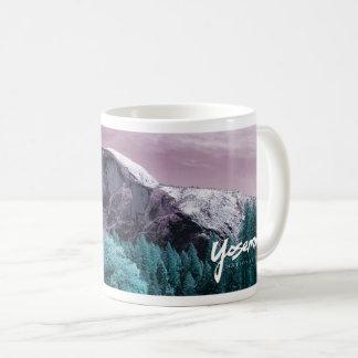 Modern Yosemite-Half Dome Coffee Mug