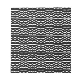 Modern Zebra Pattern Notepad