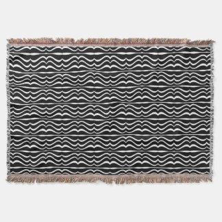 Modern Zebra Pattern Throw Blanket