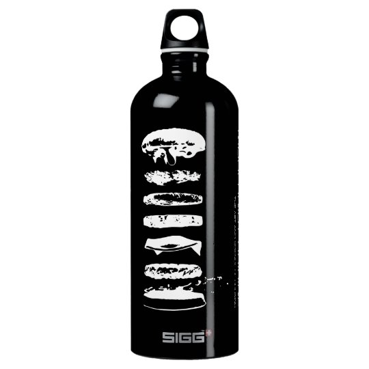 Modernist Cuisine Silkscreen HamburgerWater Bottle