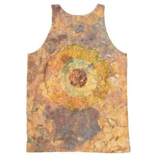 Modernist Grunge All-Over-Print Tank Top