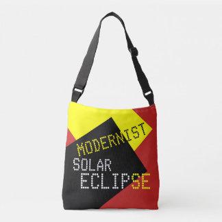 Modernist Solar Eclipse Funny customizable Crossbody Bag