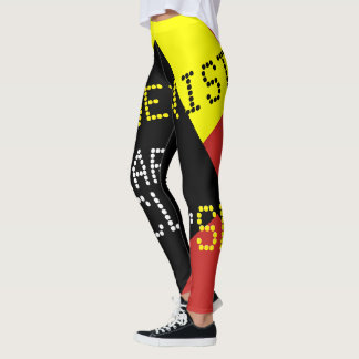 Modernist Solar Eclipse Funny customizable Leggings
