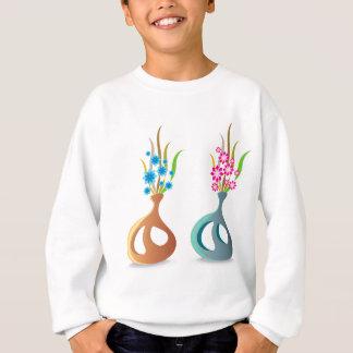ModernVaseFlowers Sweatshirt