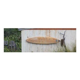 """""""Modes de vie de kiwi"""" - où est ma planche de surf Impression Photographique"""
