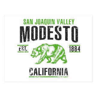 Modesto Postcard