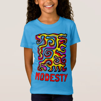 """Modesty"" Girls' Fine Jersey T-Shirt"