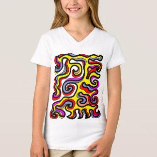 """Modesty"" Girls' V-Neck T-Shirt"