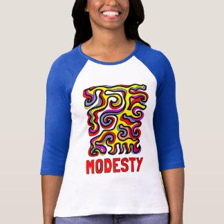 """""""Modesty"""" Women's 3/4 Sleeve Raglan T-Shirt"""