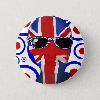Modhead Retro sixties art 2 Inch Round Button