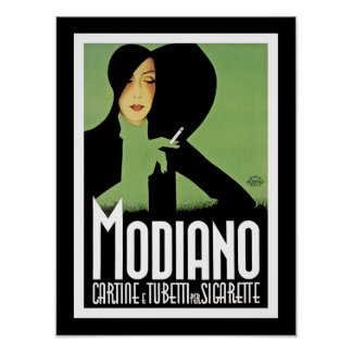 Modiano Cigarette Papers Poster