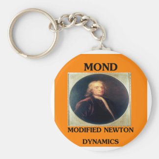 modifie newtonian dynamics physics design keychain