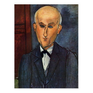 Modigliani Amedeo Portrait Postcard