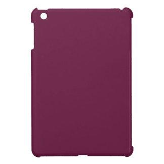 Modishly Masterful Maroon Color Cover For The iPad Mini