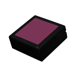 Modishly Masterful Maroon Color Gift Box