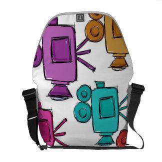 modular suitcase backpack for photographer, messenger bag