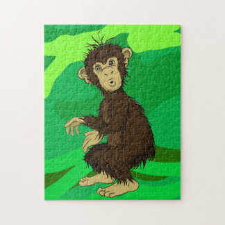 Moe Monkey Jigsaw Puzzle