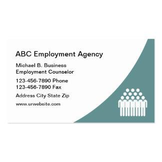 Moern Job Agency Business Cards