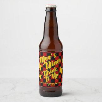 Moe's Diner Beer Labels