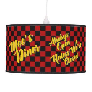 Moe's Diner Pendant Lamp