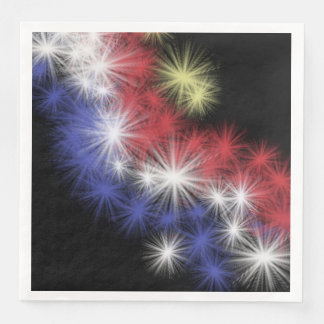 Moe's Fireworks Paper Napkin