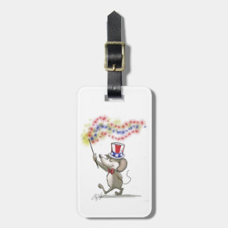 Moe's Happy 4th of July Luggage Tag