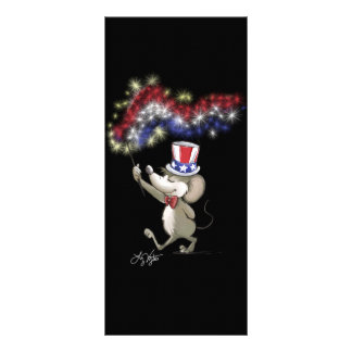 Moe's Happy 4th Of July Night Celebration Bookmark Full Colour Rack Card
