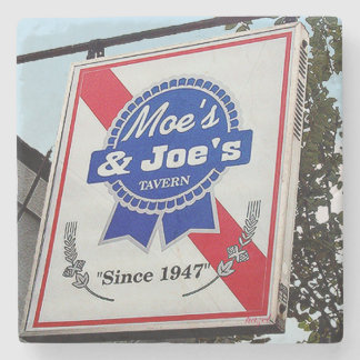 Moe's & Joe's Atlanta Landmark Marble Coaster