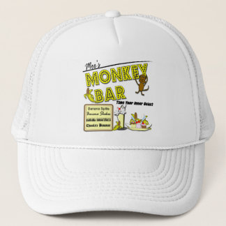 Moe's Monkey Bar Banana Splits Gifts and Apparel Trucker Hat