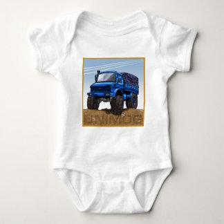 Mog2_blue Baby Bodysuit