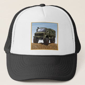 Mog2_olive Trucker Hat