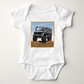 Mog2_silver Baby Bodysuit