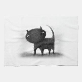 Mog Kitchen Towel