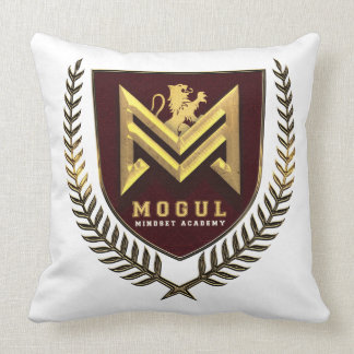 Mogul Mindset Academy Apparel Throw Pillow