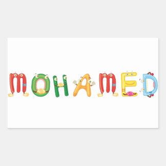 Mohamed Sticker