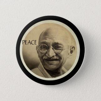 Mohandas Gandhi 2 Inch Round Button