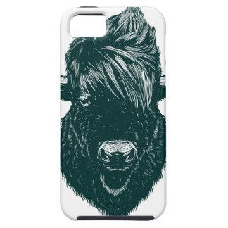 Mohawk buffalo iPhone 5 covers