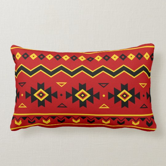 Mohawk Nation Lumbar Pillow